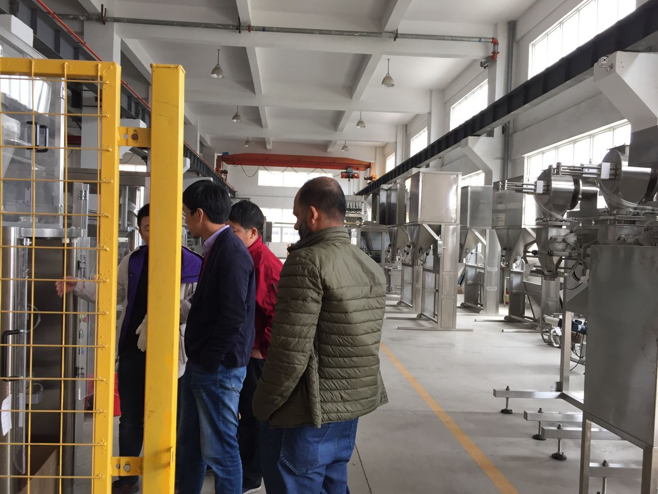 Salt packing machine factory